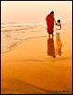 walk with mom..