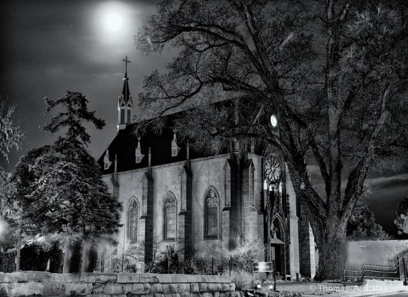 The Church Monochrome - ID: 8338112 © Thomas  A. Statas