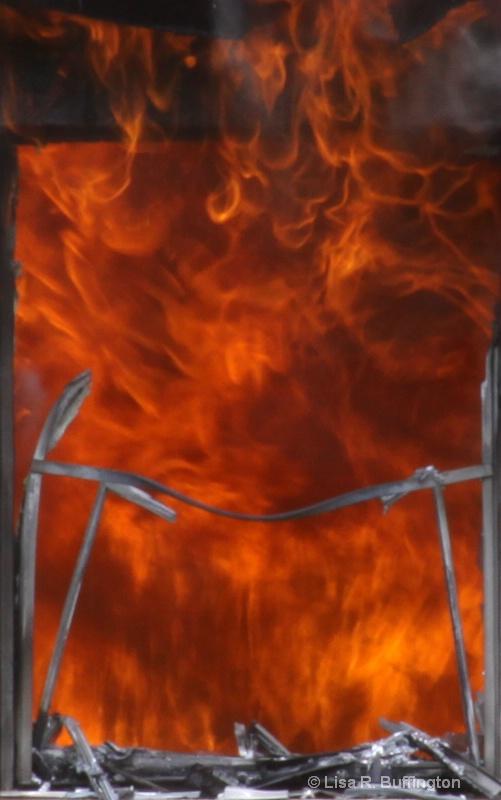Window of Fire - ID: 8341454 © Lisa R. Buffington