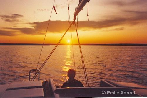 Ah enjoying the Golden Moment - ID: 8415012 © Emile Abbott