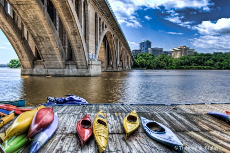 Key Bridge, Washington DC - ID: 8415183 © Thomas  A. Statas