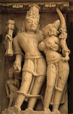 Passionate sculptures plus 1000 years old.