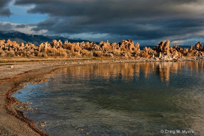 Daybreak - Mono Lake - ID: 8448272 © Craig W. Myers