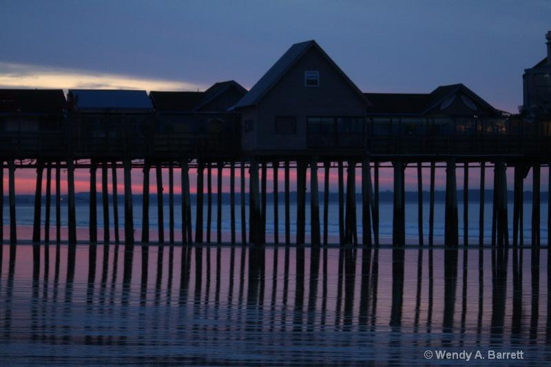 Dawn at the pier - ID: 8484029 © Wendy A. Barrett
