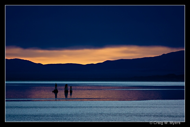 Daybreak Glow - Mono Lake - ID: 8524019 © Craig W. Myers