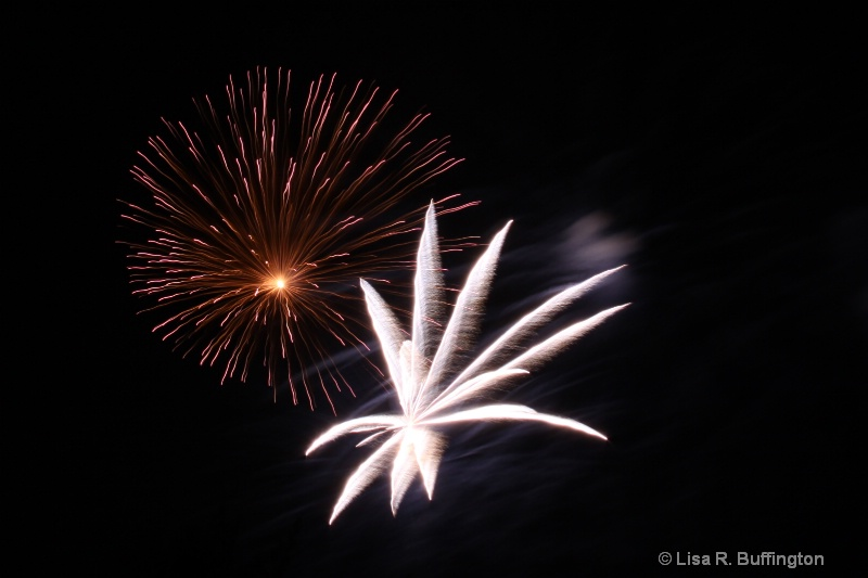 Mebane Fireworks II - ID: 8605652 © Lisa R. Buffington