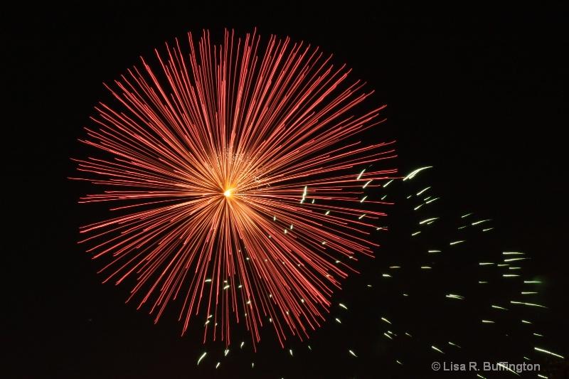 Fireworks in the Park II - ID: 8606999 © Lisa R. Buffington