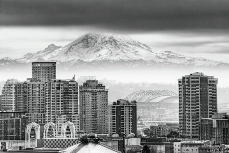 Seattle - on a grey winter day