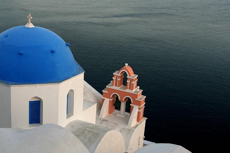 The bells of Santorini