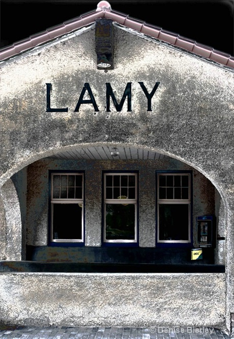 Lamy Train Station - ID: 8759620 © Denise Bierley