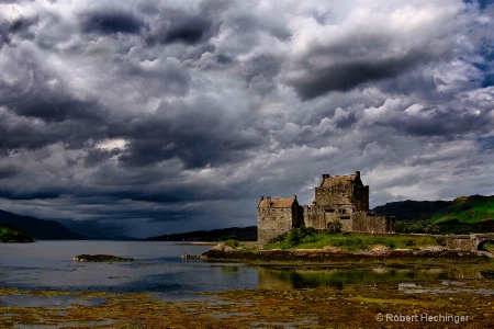 castel in storm
