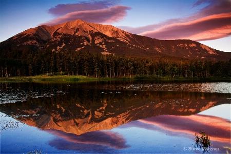 morning on bear lake