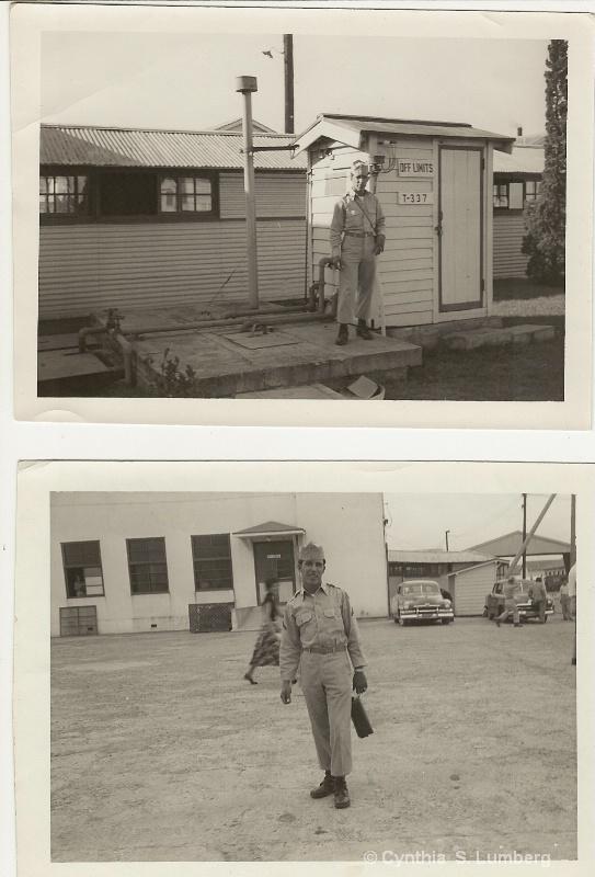 My Father at Fort Ord, California - ID: 8890256 © Cynthia S. Lumberg
