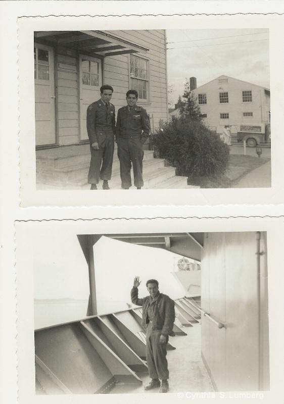 My Father shipping off to Korea. - ID: 8890257 © Cynthia S. Lumberg