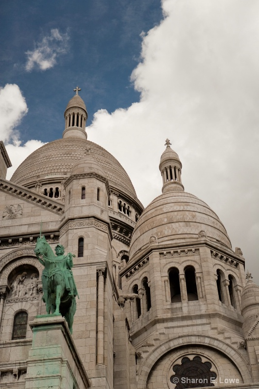 Basilique de Sacre-Coeur, Paris - ID: 9033335 © Sharon E. Lowe
