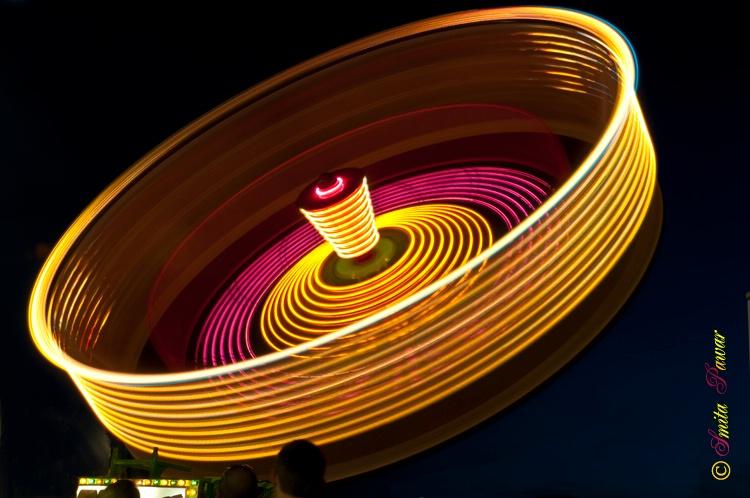 Lit Roulette Wheel