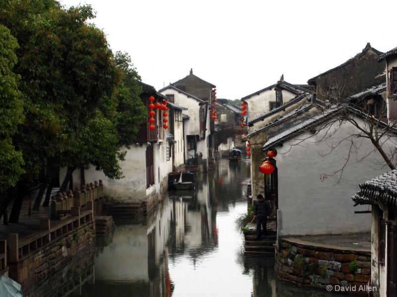 Chinese water town Zhouzhuang