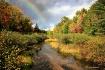 Autumn River Rain...
