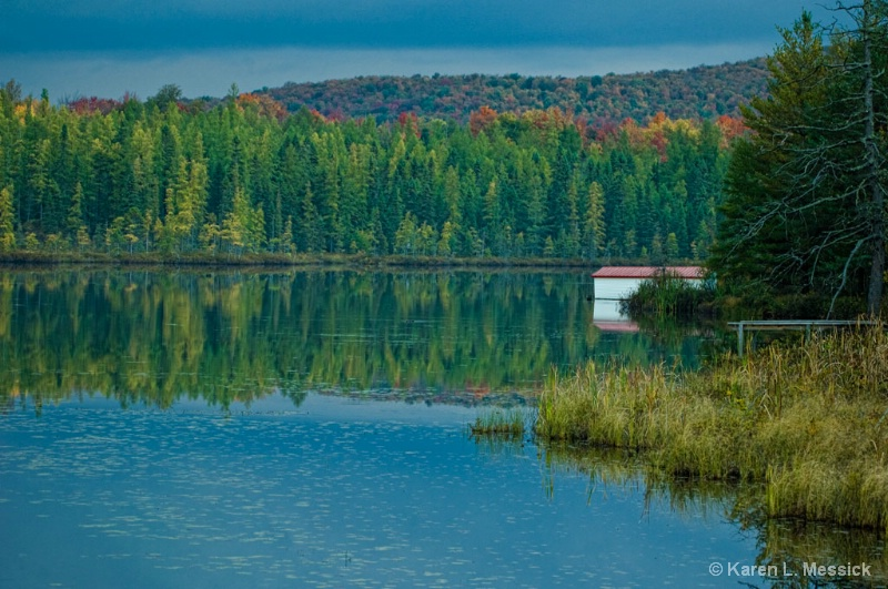 Boat House - ID: 9200811 © Karen L. Messick