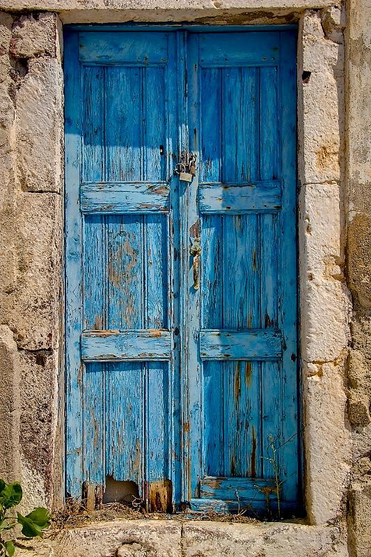 Blue Door - ID: 9237069 © Steve Abbett