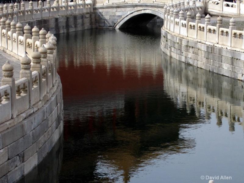 Forbidden City reflections