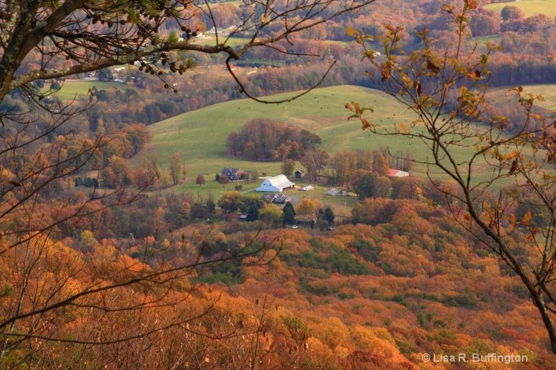 View on top of Pilot Mountain - ID: 9357471 © Lisa R. Buffington