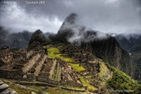 Huayna Picchu In the Clouds