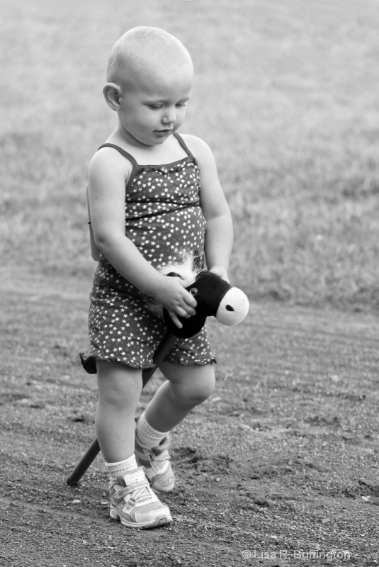 Special Little Cowgirl - ID: 9539872 © Lisa R. Buffington