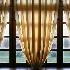 © STEVEN B. GRUEBER PhotoID# 9608605: Window with Curtains, Hungary