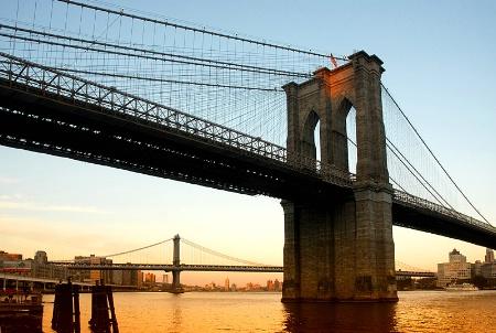 The Brooklyn-Manhattan Sunset