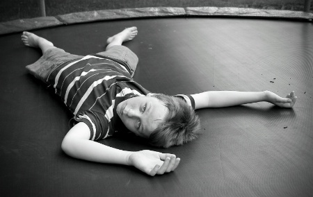 Trampoline boy!