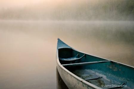 Morning Mist Heart Lake