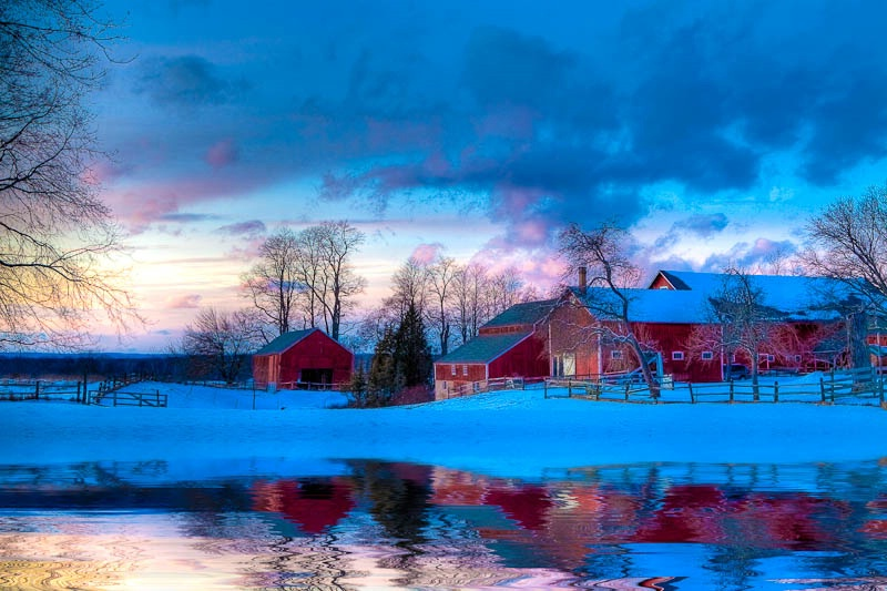 Winter In New England