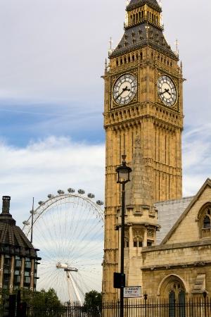Big Ben & London Eye