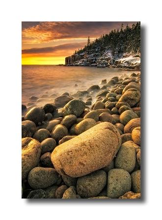 Acadia Boulder Beach