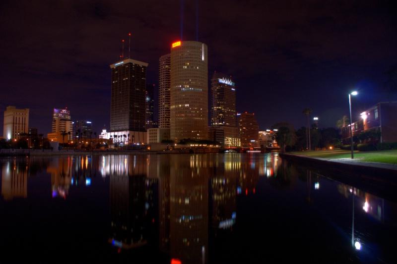 Tampa by Night - ID: 9704163 © William E. Dixon