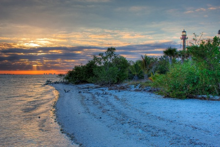Sanibel Lighthouse Sunrise
