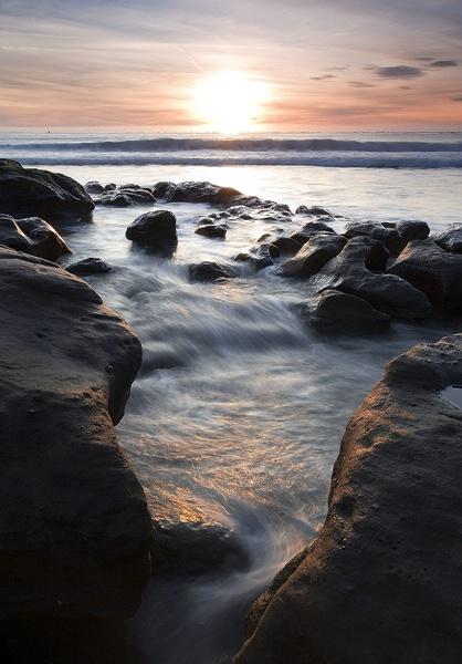 Rocky Sunset - ID: 9738846 © William C. Dodge
