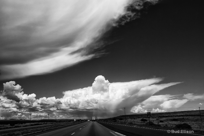 I 40 West In New Mexico