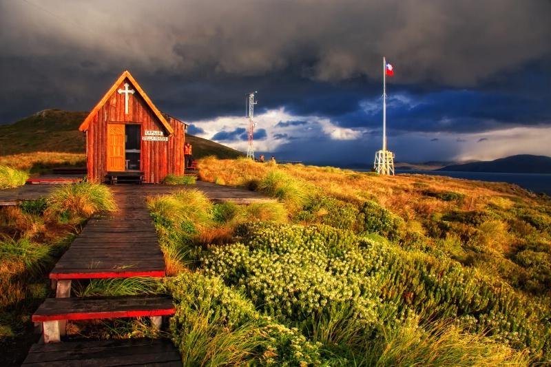 Cape Horn Chapel - ID: 9843684 © Karen Celella