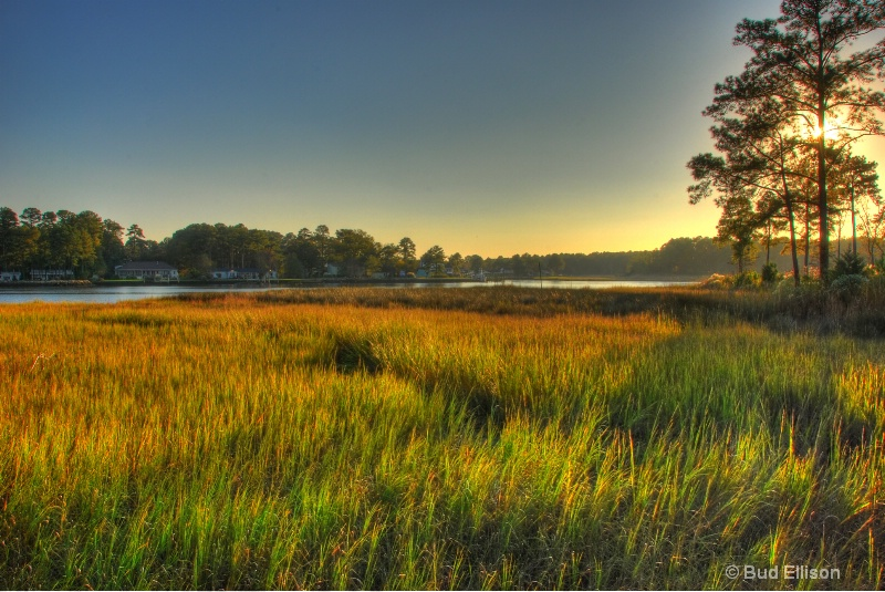Late Afternoon On The Elizabeth River