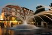 Fountain at Dawn