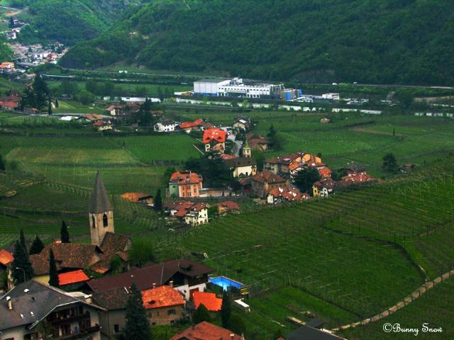 From Above Bozen-Bolzano