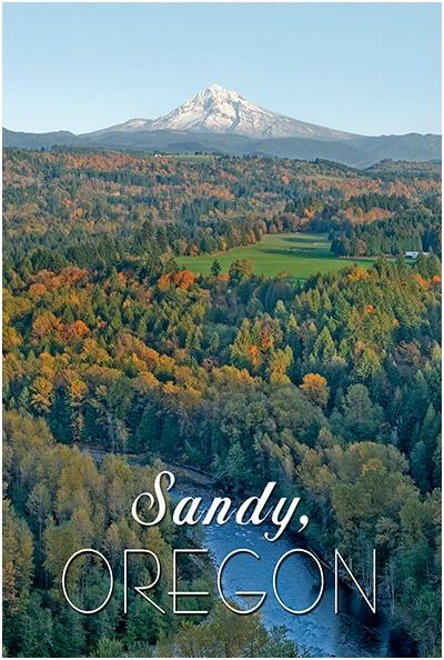 Sandy, Oregon from Jonsrud Viewpoint - ID: 10057862 © David P. Gaudin