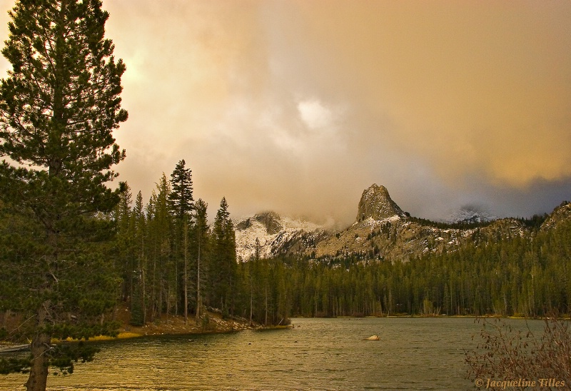 Stormy Sierra Sky - ID: 10078596 © Jacqueline A. Tilles