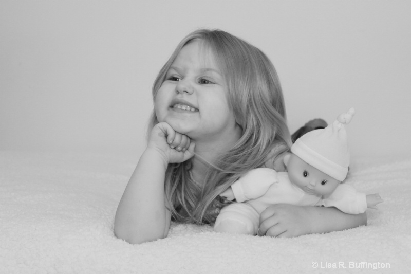 Emily Making A Face At Grandma - ID: 10157323 © Lisa R. Buffington