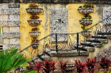 Wall at Vizcaya (Miami)