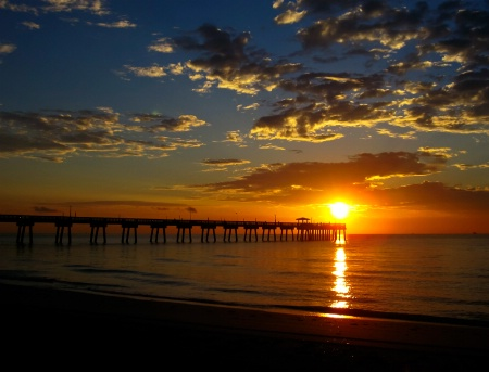 Dania Pier Sunrise
