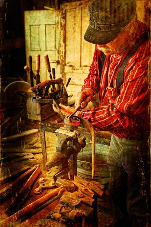 Oldtime Blacksmith
