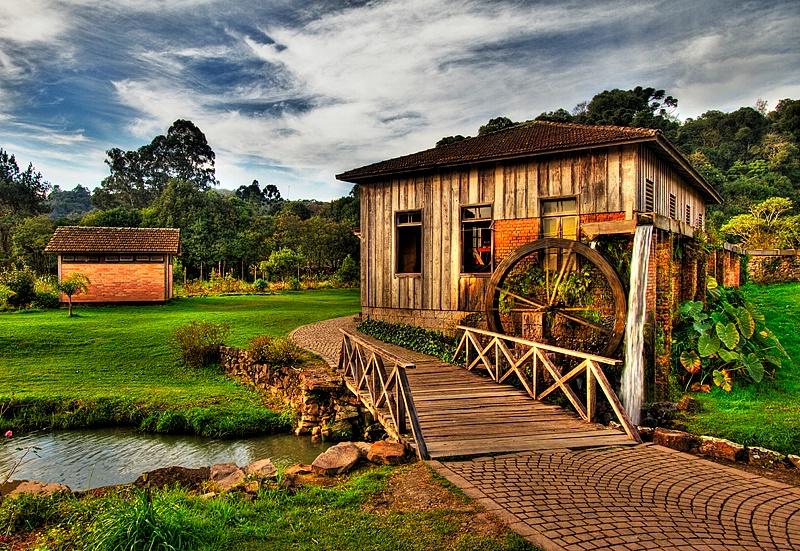 Rural Brazil setting